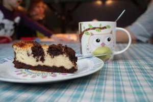 mmmh...frisch gebackener Kuchen!