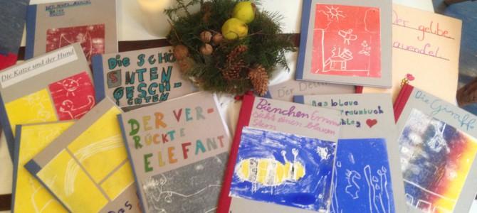 Bücherfische – Kinder schreiben und gestalten Bücher