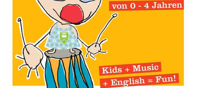 Little Music Makers – neuer Musikkurs für Eltern mit Kindern zwischen 0 und 4 Jahren – Start am 27. März um 16.30 Uhr